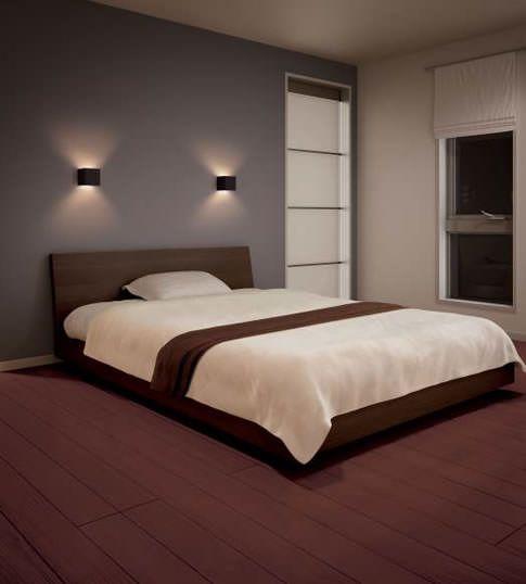 主寝室 調光可 LEDファブリックブラケット 小泉照明