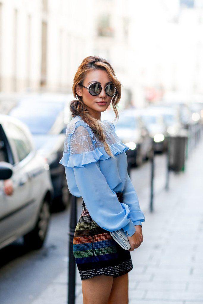 Ţinute stylish de pe străzile din Paris