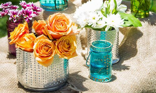 Home  Family - Tips  Products - Jessie Jane's Upscale DIY Vases   Hallmark Channel