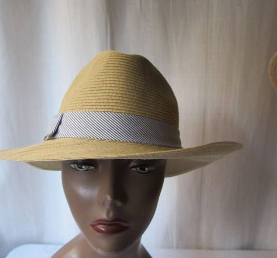 9db179683e514 HAT SCALA PRONTO made in Italy beige fedora soft high fashion