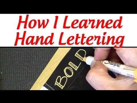 ▶ Hand Lettering Tips for Beginners. - YouTube