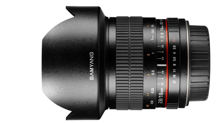 Samyang announces 10mm APS-C lens | A non-fisheye, super-wide lens with a maximum aperture of f/2.8 set to go on sale at the end of January. Buying advice from the leading technology site