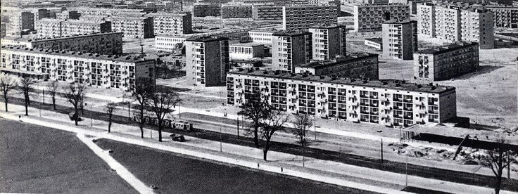 District XVIII Nowa Huta (Mound, Pleszów, Branice, Krzesławice), Krakow - 1962 years, old photos