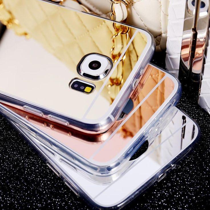 Mirror Case For Samsung Galaxy S6 S6 Edge / S6 Edge Plus / S7 S7Edge Case Luxury Ultra Thin Cover  #me #sale #newarrivals #sexyshoes #accessories #mensfashion #women #men #smartwatch #wallets #graduation #trendy #money #selfie #love