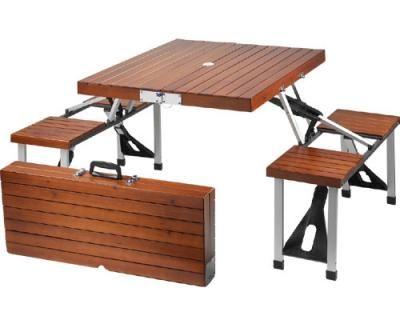 Picnic at Ascot Portable Wood Picnic Table