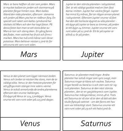 Här är ett material om vårt solsystem. Materialet innehåller kort i tre delar av de åtta planeterna, solen, vår måne, solsystem och asteroid. Det finns även fakta kort om alla dessa.Vill du ha…