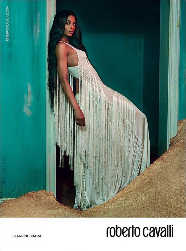 Ciara for Roberto Cavalli Fall Winter 2015.16