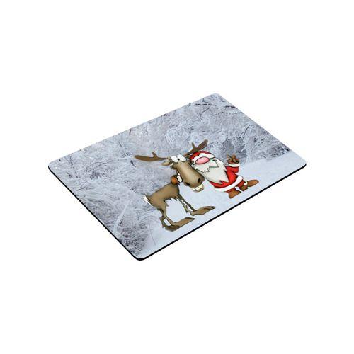 "Santa and Reindeer Doormat 30""x18"" (Large)"