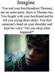 My favorite imagine. But I can't fathom why my boyfriend isn't Thomas Brodie Sangster