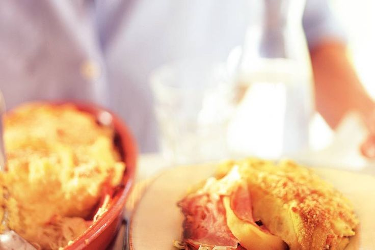 Kijk wat een lekker recept ik heb gevonden op Allerhande! Zuurkool met ham en appel