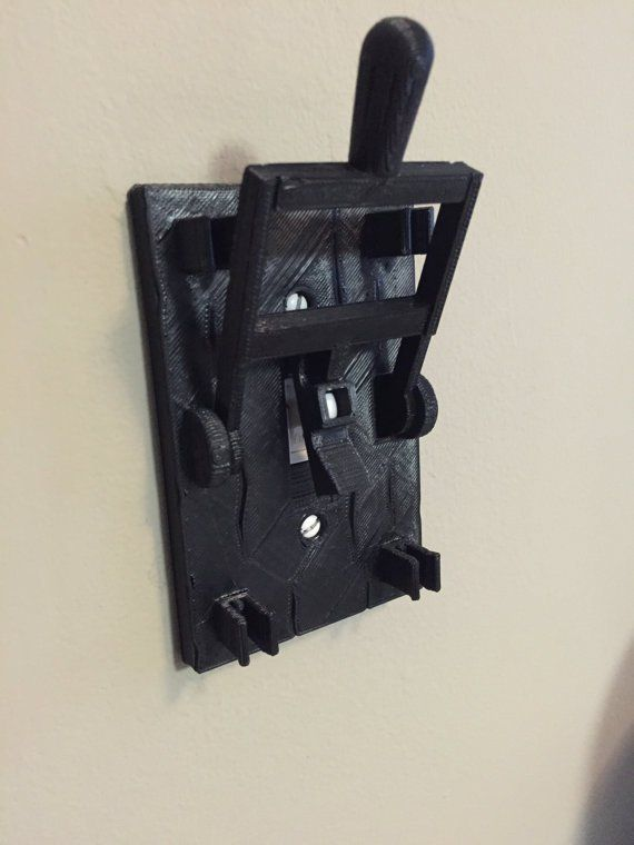 FRANKENSTEIN inspired light switch plate by 3DPrintingEgg via Etsy store.