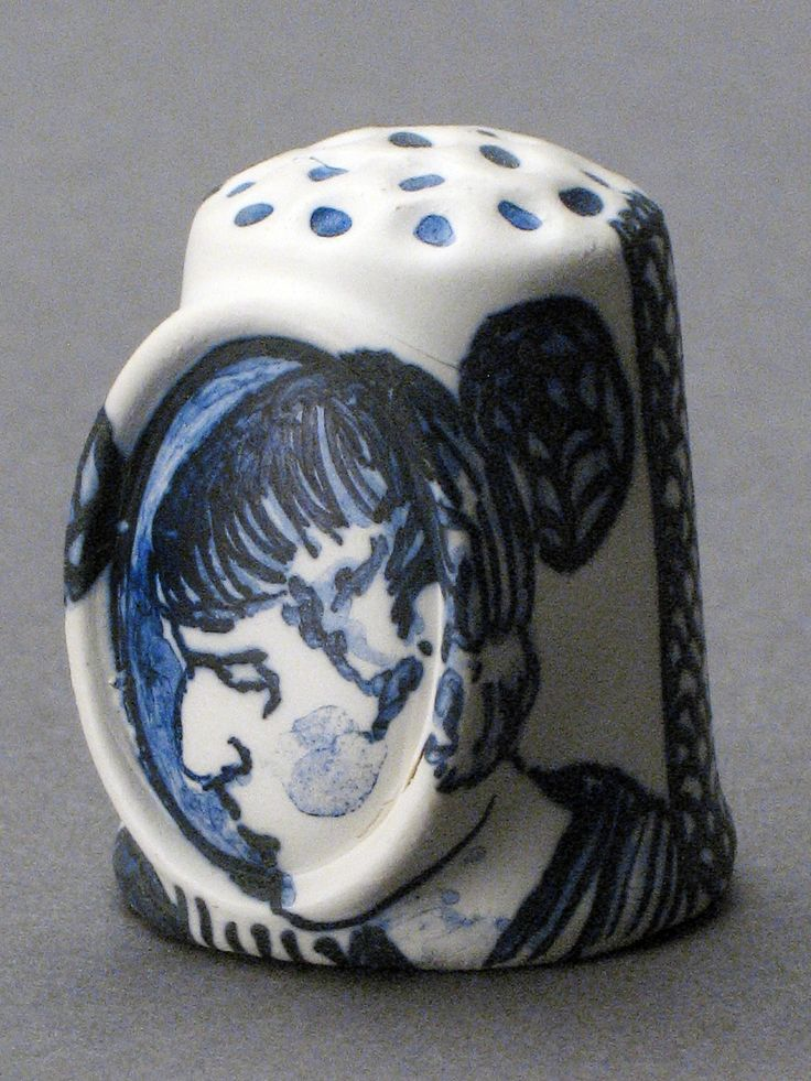 Beardsley Thimble (Detail) from The Wicked Ones, sculpture by Lindsay Montgomery 2009