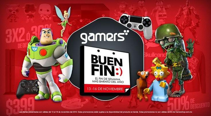 Revelan ofertas del Buen Fin 2015 en Gamers y GamePlanet ¡No te quedes sin jugar! - http://webadictos.com/2015/11/12/ofertas-del-buen-fin-2015-en-gamers-y-gameplanet/?utm_source=PN&utm_medium=Pinterest&utm_campaign=PN%2Bposts