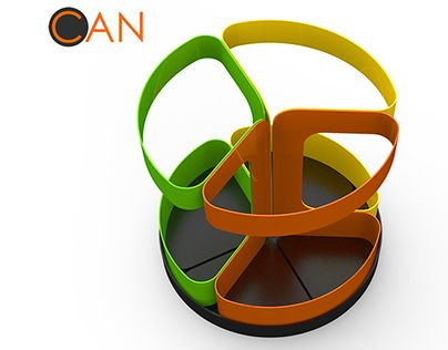 """Check out new work on my @Behance portfolio: """"Separate recycling trash can."""" http://on.be.net/1M5GCue"""