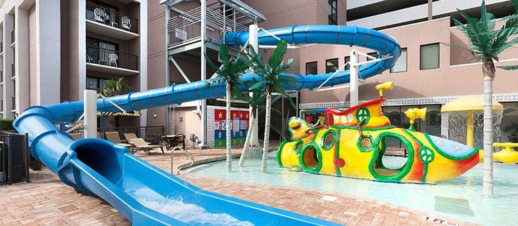 Long Bay Resort | Water Slide | Myrtle Beach | Oceanfront Hotels