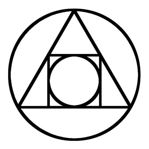Alchemical symbol of Transmutation. Used and recognized by those who study mental alchemy, divine alchemy and Newton's Alchemy.  Mental Alchemy - Transmute the bad into positive, into the aligned universal good, the chi, prana, orgone, ka, earth-aether.  tjc