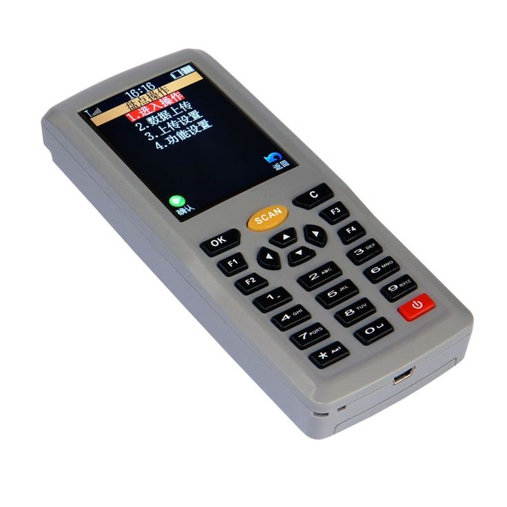 (126.98$)  Watch here - http://aidcu.worlditems.win/all/product.php?id=32795923450 - Laser Wireless Handheld Terminal Barcode Reader Scanner With Display Screen Mobile Handheld POS Supermarket Inventory Machine