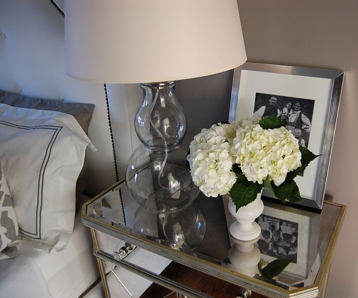 1000 Ideas About Mirrored Nightstand On Pinterest