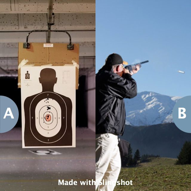 Spend a day at the target range or the skeet shooting field? Click here to vote @ http://getslingshotapp.com/share/94816