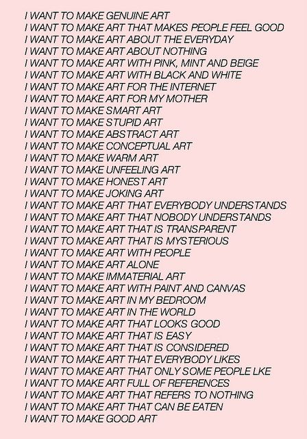 "GIRLBOOS MOOD: visual-poetry: "" by jenny holzer (+) """