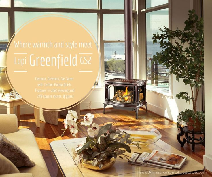 What has Warmth, Style, and is Good for the Environment? The Lopi Greenfield GS2!