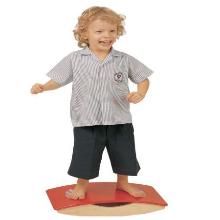 Wobble boards are useful when developing balance, coordination and core strength...