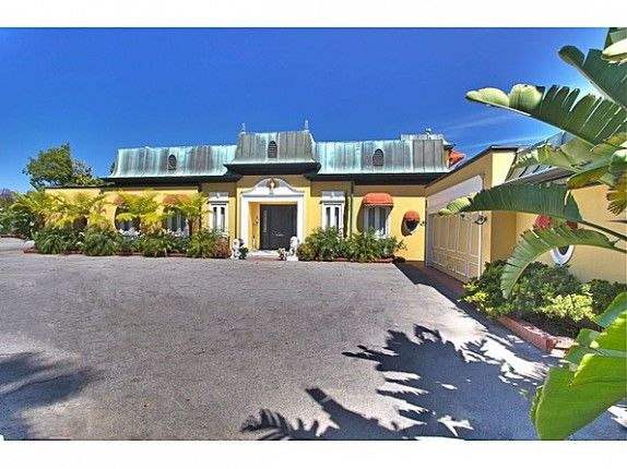 """Zsa Zsa Gabor's Bel Air mansion was featured in the movie """"Argo"""" and will make a cameo in Matt Damon's new Liberace film. #celebrityhomes #movies #realestate"""