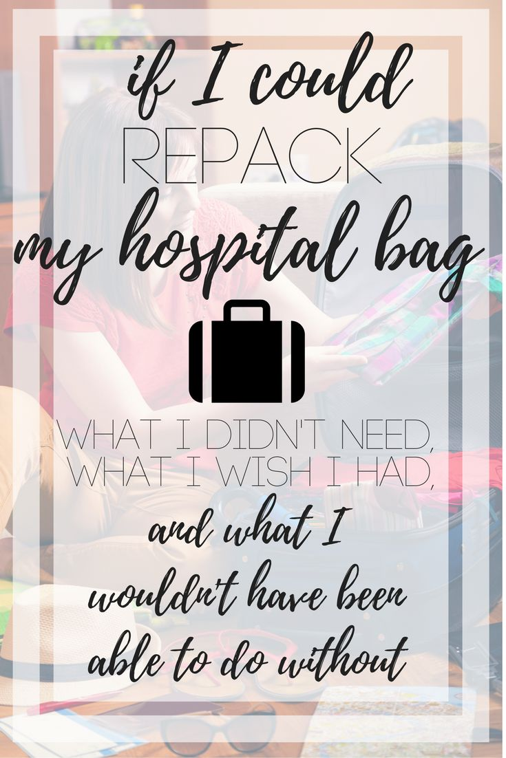 What to pack in your hospital bag. Here's a full list of what I didn't need, what I wish I had and what I couldn't have lived without!