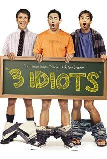 3 Idiots - Bollywood movie. They really are 3 idiots, these guys. Long 3h-movie, if you sympathize with Indian culture you might like it.