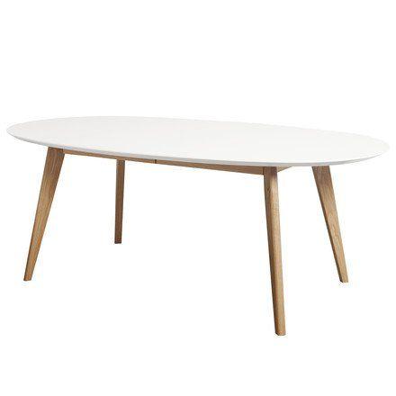 andersen furniture dk10 auszeihtisch oval weieiche gelt wei t110 h