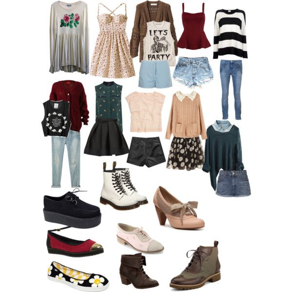 Soft grunge hipster clothes and outfits