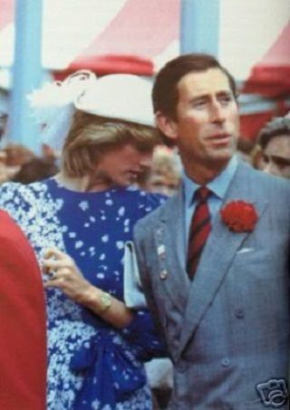 June 30, 1983: Prince Charles & Princess Diana visiting a Cultural Exhibition at the Edmonton Convention Centre in Alberta. (Day 17)