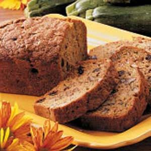 Zucchini Pineapple Bread Recipe -Meals are even more memorable when I complement them with this light garden-fresh bread. The zucchini makes it so moist and tender...and the pineapple lends a delicate tropical twist to every delicious slice.
