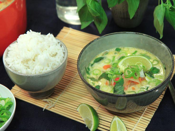 Tom kha med fisk | Recept från Köket.se