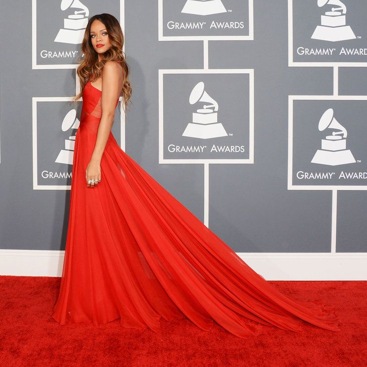 Rihanna - The Most Fabulous Grammy Red Carpet Looks of All Time