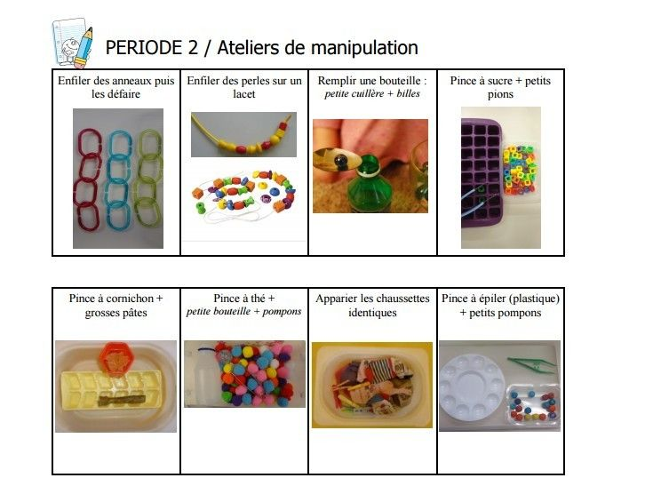 Très 432 best Ateliers manipulation Montessori images on Pinterest  VY12