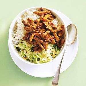 Recept - Babi ketjap met Chinese kool en rijst - Allerhande