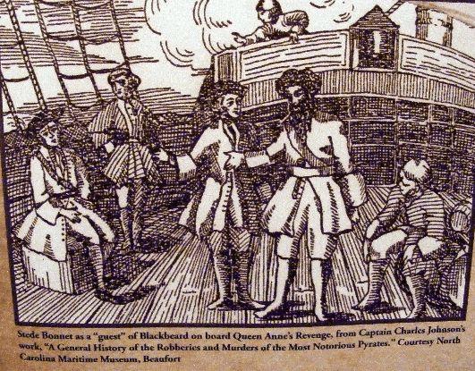 Боннет и Борода - Всеобщая история пираты (1724)