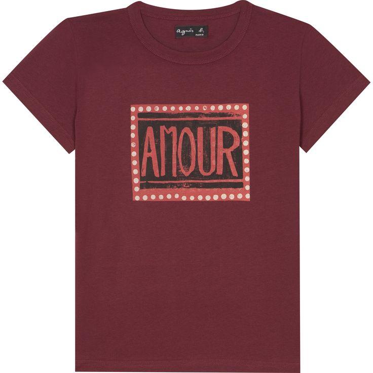 T-shirt P.P. bordeaux