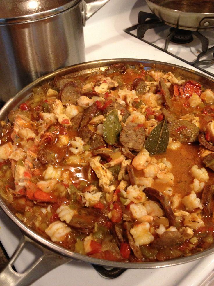 Creole-Cajun Jambalaya Recipes — Dishmaps