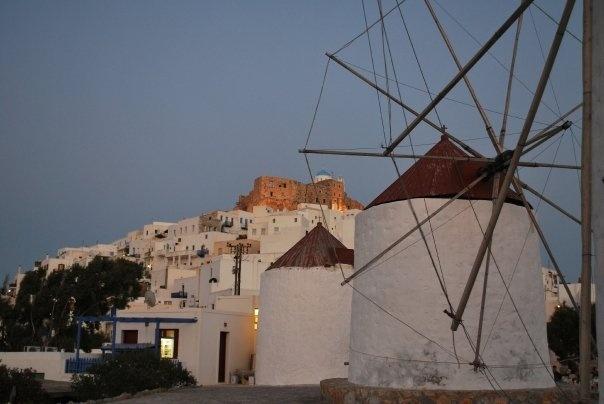 Astypalaia, windmills