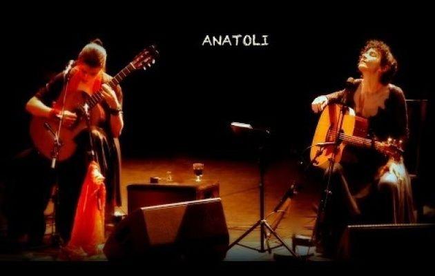 Angélique Ionatos et Katerina Fotinaki