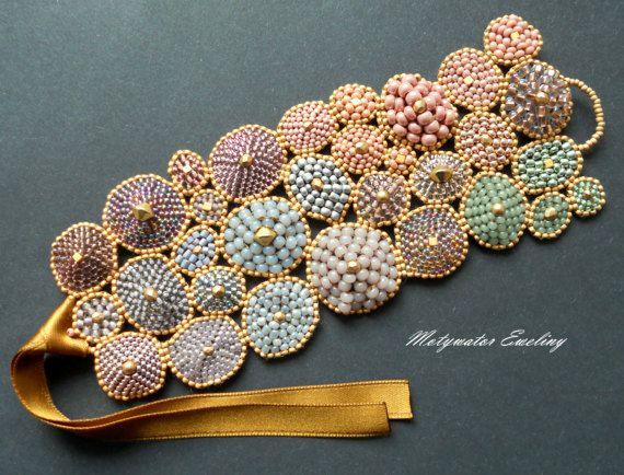 Just LOVEly Bracelet with tiny glass beads