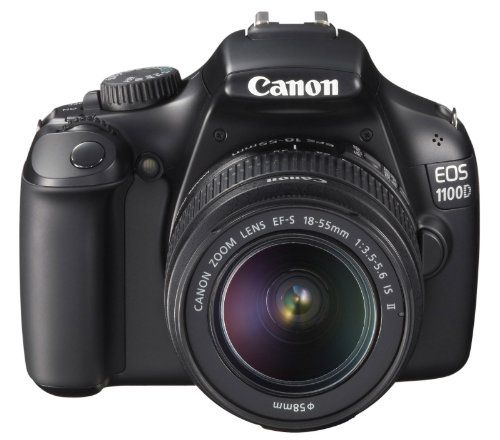 Canon EOS 1100D SLR-Digitalkamera (12 Megapixel, 6,9 cm (2,7 Zoll) Display, HD-Ready, Live-View)
