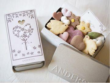 ウェディングクッキー アンデルセン青山 常時あり 人魚姫7-8月1.2.3月 親指姫 3.4.5みにくいアヒルの子 各2700円