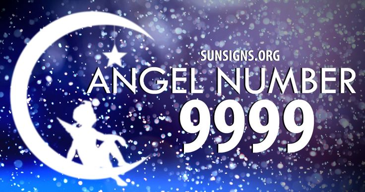 The angel number 9999 is a number of completion.