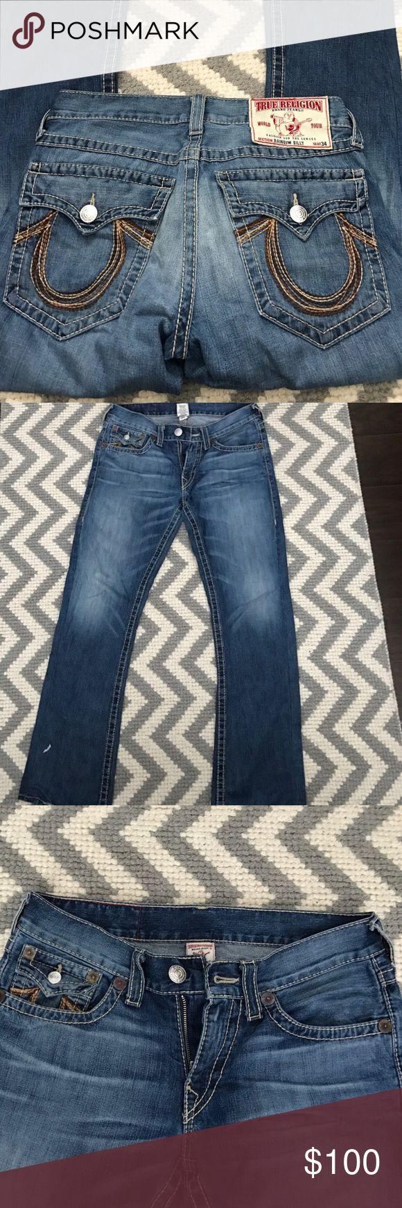 True Religion Men's Jeans Size 33 True Religion Men's Jeans Size 33 True Religion Jeans