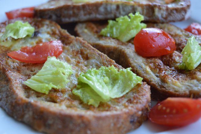 Egg Coated Bread