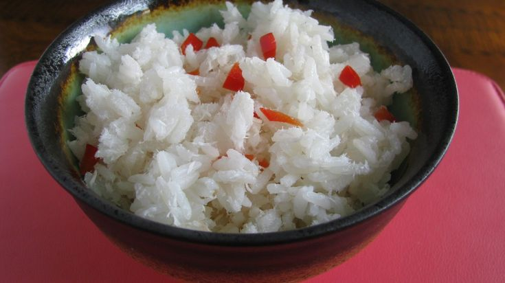 coconut vanilla rice
