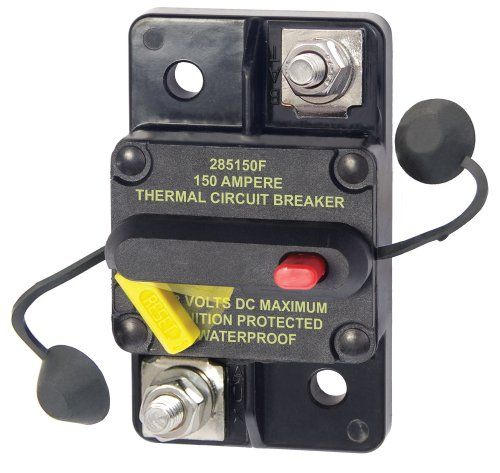 17 best images about circuit breakers plugs blue sea systems 285 series surface mount 150a circuit breaker drop in replacement for